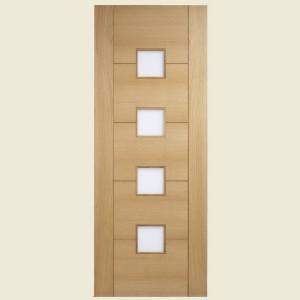 Vancouver Oak Glazed Doors