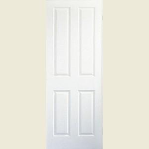 & 30 x 78 Atherton 4-Panel Textured 35mm Fire Door