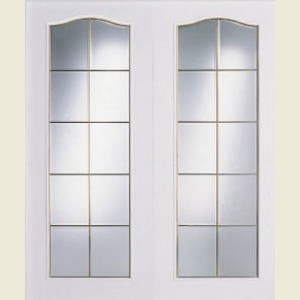 Columbia Twenty Light Glazed Door Pairs