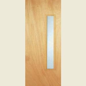 Durador 18G  Glazed Flush Doors