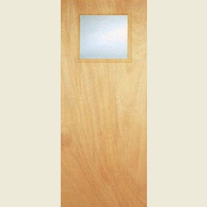Durador 1G  Glazed Flush Doors