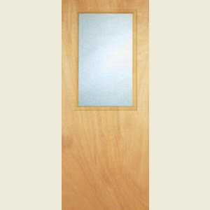 Durador 8G  Glazed Flush Doors