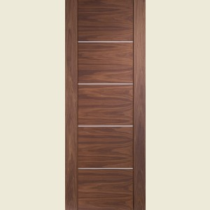 Alumina Portici Walnut Flush Doors