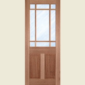 Downham Glazed Hardwood Doors
