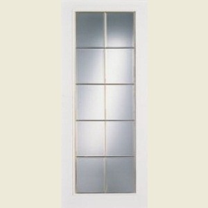Ontario Ten Light Glazed Textured Doors