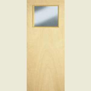 Popular Glazed Flush Doors