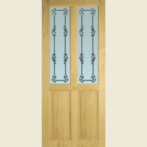 Richmond Bluebell Glazed Doors