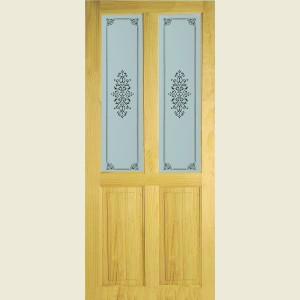 Richmond Campion Two Light Glazed Doors