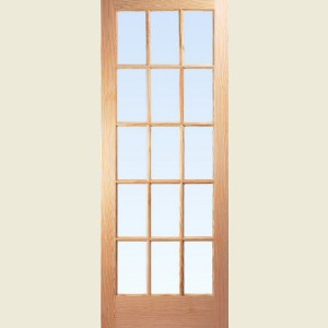 Internal Fifteen Light SA Softwood Doors