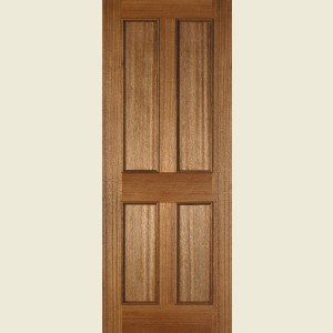 Senator Four Panel Bolection Hardwood Doors