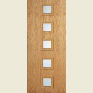 Superdelux 10G White Oak Veneer Doors