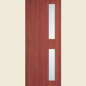 32 x 80 Sapele Veneer 16G FD60 Fire Door