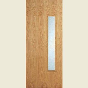 Superdelux 18G White Oak Veneer Doors