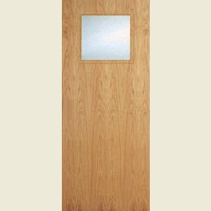 Superdelux 1G White Oak Veneer Doors