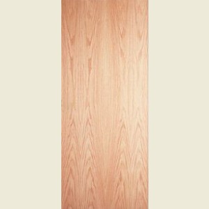32 x 80 Red Oak Veneer FD30 Fire Door