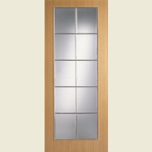 Wood Tone Beech Full Light Doors