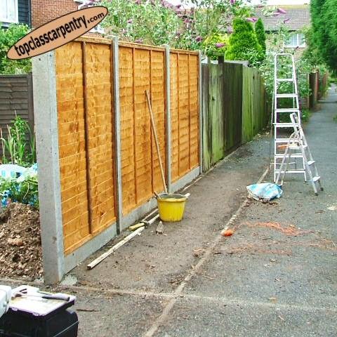 Fencing Installation image