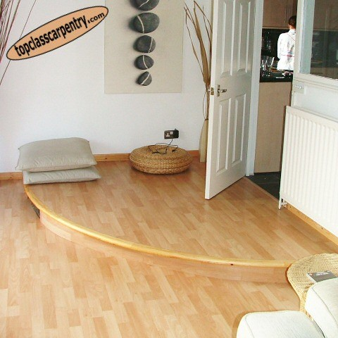 Split Level Laminate Flooring image