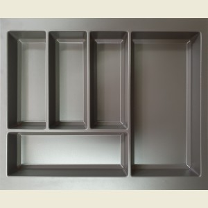 Anthracite Grey Cutlery Tray 600mm
