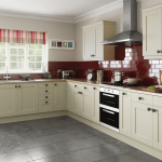 Ivory Shaker Kitchen