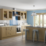 Light Oak Shaker Kitchen