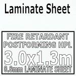 Bianco Deco Matt Laminate Sheet