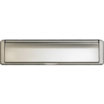 Fire Rated Telescopic Letter Plate Satin Chrome