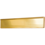 293mm Gold Letterplate Draught Excluder