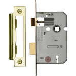 64mm 3-Lever Mortice Sashlock EB