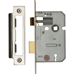 64mm 3-Lever Mortice Sashlock PC