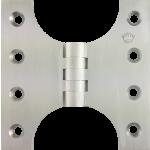 102mm x  60mm x 102mm x 4mm Parliament Hinge Satin Chrome