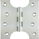 102mm x  52mm x 102mm x 4mm Parliament Hinge Satin Chrome