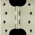 102mm x  52mm x 102mm x 4mm Parliament Hinge Satin Nickel