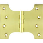 102mm x  73mm x 127mm x 4mm Parliament Hinge Polished Brass