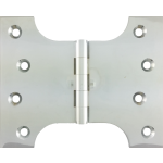 102mm x  73mm x 127mm x 4mm Parliament Hinge Polished Chrome