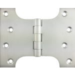 102mm x  76mm x 127mm x 4mm Parliament Hinge Satin Chrome