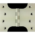 102mm x  76mm x 127mm x 4mm Parliament Hinge Satin Nickel