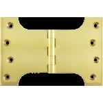102mm x 100mm x 151mm x 5mm Parliament Hinge Polished Brass