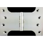 102mm x 100mm x 152mm x 4mm Parliament Hinge Polished Chrome