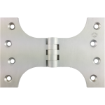 102mm x 100mm x 152mm x 5mm Parliament Hinge Satin Chrome