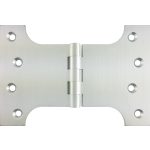 102mm x 100mm x 152mm x 4mm Parliament Hinge Satin Chrome