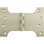 102mm x 100mm x 152mm x 4mm Parliament Hinge Satin Nickel