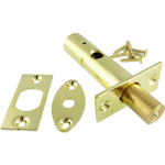 60mm Mortice Rack Bolt Polished Brass