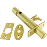 88mm Mortice Rack Bolt Satin Brass