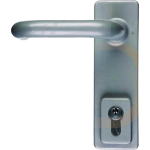 Outside Access Fire Door Locking Handle