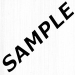 Linea White Showerwall Sample