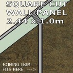 Urban Square Edge Panel 1000mm