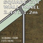 Urban Square Edge Panel 1200mm