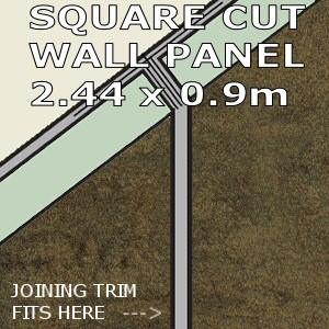 Urban Square Edge Panel 900mm