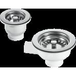 Ceramic 1.5 Bowl Sink Strainer Waste Kit